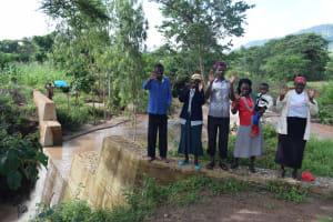 The Water Project: Utuneni Community B -  Community Members At The Dam
