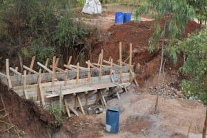 The Water Project: Utuneni Community B -  Dam Scaffolding