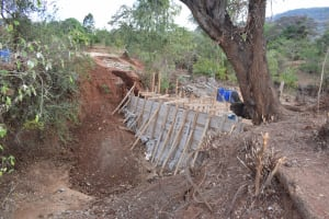 The Water Project: Utuneni Community B -  Dam Construction