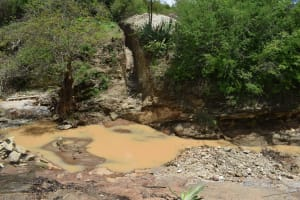 The Water Project: Kithumba Community D -  Dam Site