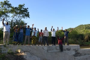The Water Project: Kithumba Community D -  Shg Members At The Well