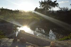 The Water Project: Kithumba Community D -  Water Behind The Dam