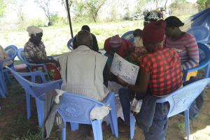 The Water Project: Kaketi Community A -  Group Discussion