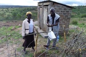 The Water Project: Kaketi Community A -  Handwashing Demonstration