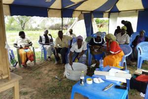 The Water Project: Kaketi Community A -  Soapmaking