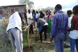 The Water Project: Kaketi Community A -  Tippy Tap Construction