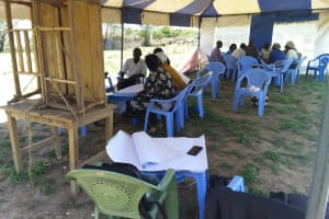 The Water Project: Kaketi Community A -  Training Group Discussions