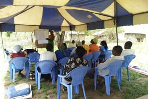 The Water Project: Kaketi Community A -  Training