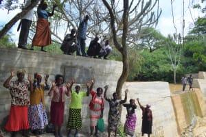 The Water Project: Kaketi Community -  Celebrating At The Sand Dam