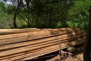 The Water Project: Kaketi Community -  Construction Materials
