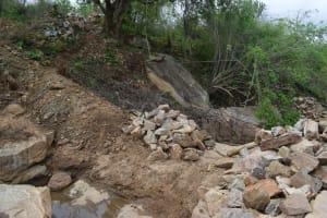 The Water Project: Kaketi Community -  Dam Site