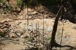 The Water Project: Kaketi Community -  Siting The Dam