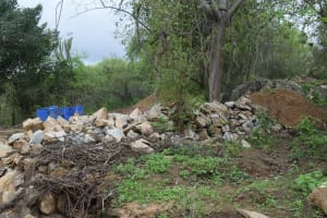 The Water Project: Kaketi Community -  Stone For Construction