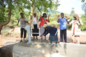 The Water Project: Utuneni Community C -  Celebrating The New Well