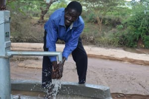 The Water Project: Utuneni Community C -  Smiles For Reliable Water