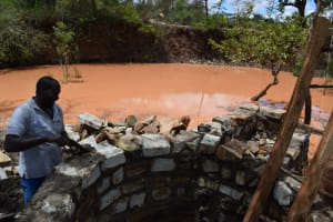 The Water Project: Utuneni Community C -  Working On Well Pad
