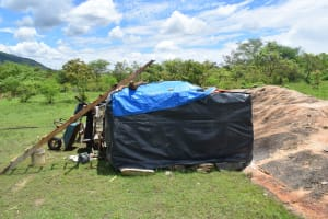 The Water Project: Kithumba Community E -  Construction Materials