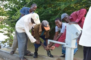 The Water Project: Kithumba Community E -  Water From The Well