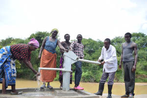 The Water Project: Kaketi Community A -  Reliable Water