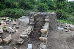 The Water Project: Kaketi Community A -  Starting Well Steps