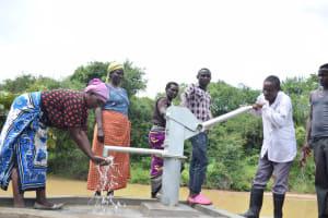 The Water Project: Kaketi Community A -  Water