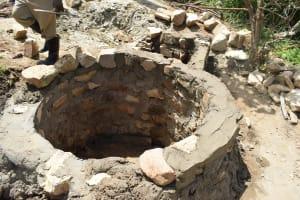The Water Project: Kaketi Community A -  Well Progress