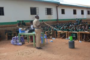 The Water Project: AIC Mbao Primary School -  Training