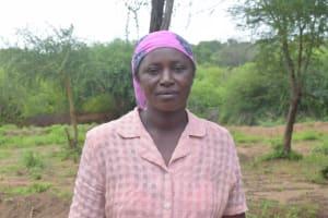 The Water Project: Kathamba ngii Community C -  Tabitha Mutheke