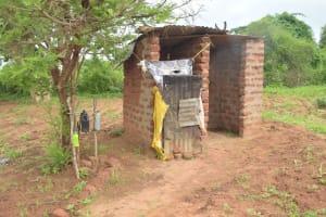 The Water Project: Kathamba ngii Community C -  Latrine