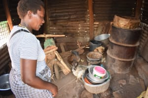 The Water Project: Syonzale Community -  Inside Kitchen