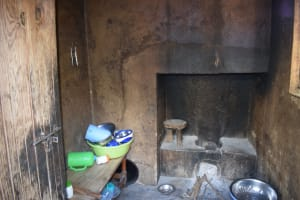 The Water Project: Yumbani Community -  Inside Kitchen