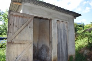 The Water Project: Yumbani Community -  Latrines