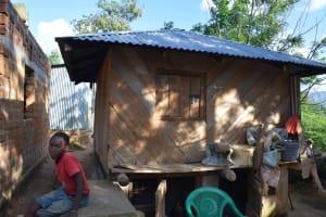 The Water Project: Yumbani Community -  Sitting Next To The Granary