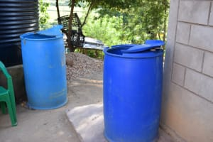 The Water Project: Yumbani Community -  Water Storage Container