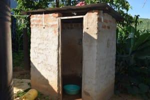 The Water Project: Yumbani Community A -  Bathing Shelter