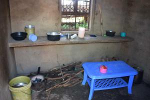 The Water Project: Yumbani Community A -  Kitchen