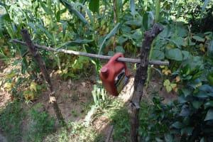 The Water Project: Yumbani Community A -  Tippy Tap Handwashing Station