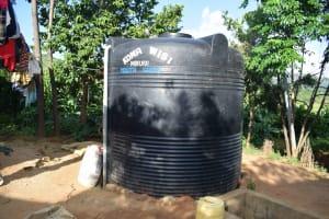 The Water Project: Yumbani Community A -  Water Tank