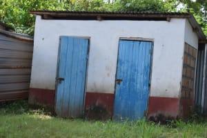 The Water Project: Mutulani Secondary School -  Boys Latrines