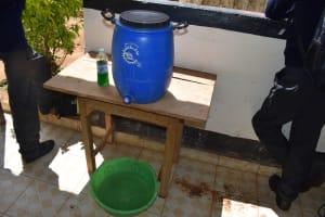 The Water Project: Mutulani Secondary School -  Handwashing Station