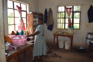 The Water Project: Mutulani Secondary School -  Inside Kitchen