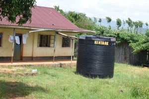 The Water Project: Mutulani Secondary School -  Small Rainwater Tank