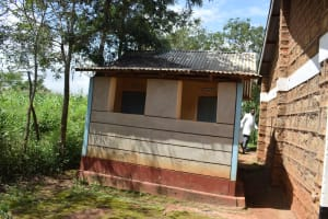 The Water Project: Mutulani Secondary School -  Staff Latrines