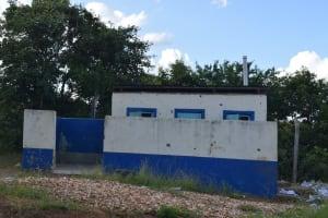 The Water Project: Kimuuni Secondary School -  Boys Latrines