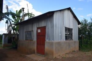 The Water Project: Kimuuni Secondary School -  Kitchen Building