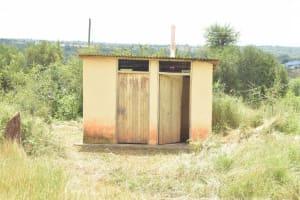 The Water Project: Kamuwongo Primary School -  Staff Latrines
