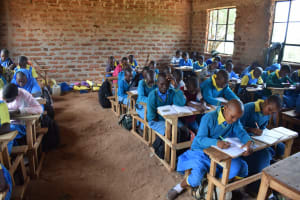 The Water Project: Kamuwongo Primary School -  Students In Class