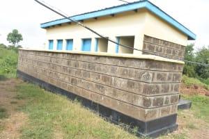 The Water Project: St. Paul Waita Secondary School -  Girls Latrines