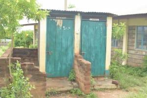 The Water Project: St. Paul Waita Secondary School -  Staff Latrines