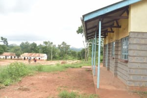 The Water Project: Mung'alu Primary School -  Classrooms